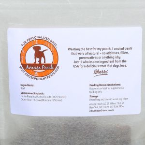 beef chips natural ingredients for dogs